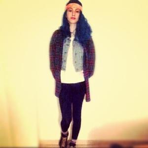 blue new hair
