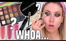 Testing NEW MAKEUP BRANDS from the DRUGSTORE & SEPHORA || Full Day Wear Test!