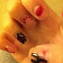 1St Time Doing Nail Art!