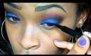 A Blue Smokey Eye Tutorial