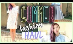 QUICK SUMMER CLOTHING HAUL - Unboxing & Try On! | Bethni