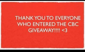 CBC Makeup Giveaway: Winners Announced!