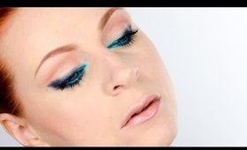 Runway Inspiration: Aquamarine Makeup by Ellie Saab Spring-Summer 2015 Fashion Show