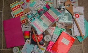 Huge UK Hema stationery haul + giveaway! | EC Life Planner