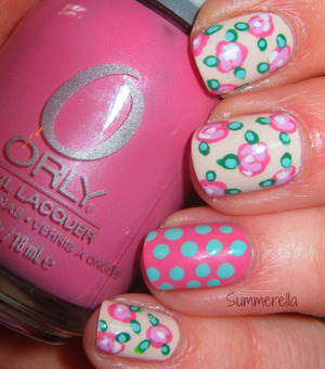 Orly Pure Porcelain, Elsbeth's Rose, Lollipop, Dayglow, Lucky Duck and Gumdrop
