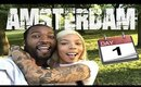 Amsterdam Vlog Day 1 | Where The Weed At!?