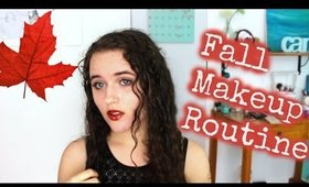 Fall Makeup Routine || Such A Claire