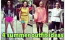 4 Outfit Ideas for the Hot & Cool SUMMER days