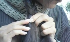 fishtail braid no heat no products