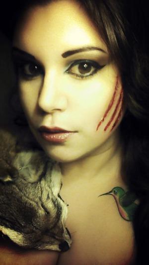 Wolf beauty glamor sfx @tamarahmua
