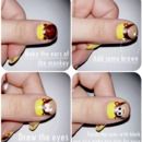 Monkey nails tutorial