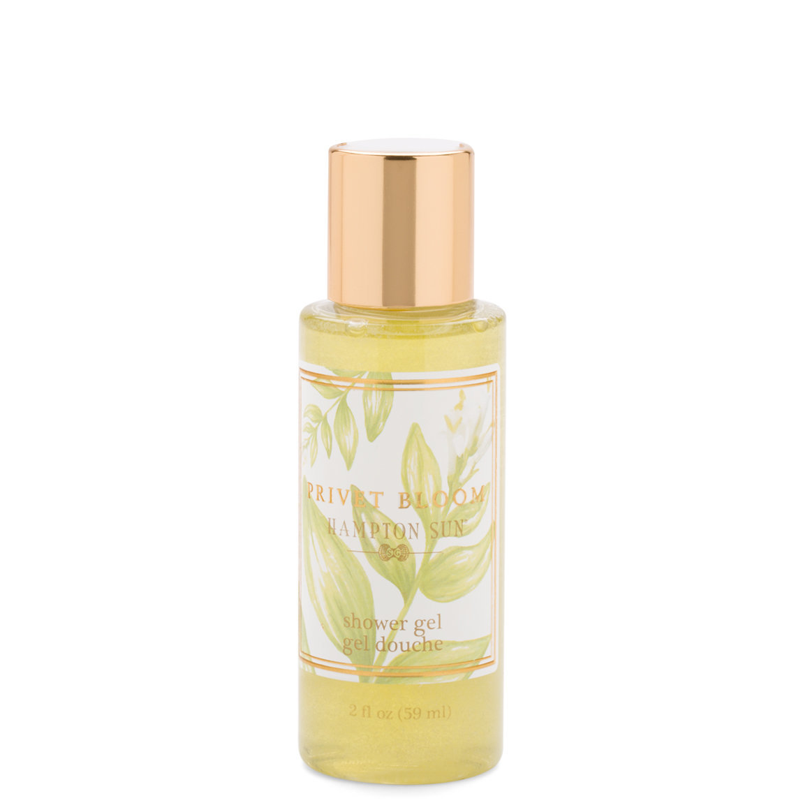Hampton Sun Privet Bloom Shower Gel 2 oz product smear.