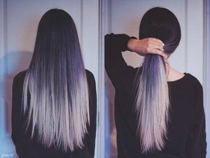 Black Hair With White Ends Beautylish