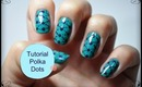 Tutorial: Unhas Polka Dots