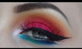 Sunset makeup