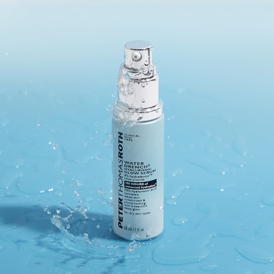 Alternate product image for Water Drench Hyaluronic Glow Serum shown with the description.