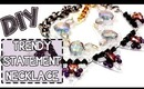 ☂DIY: Simple Statement Necklace {Shrink Plastic}