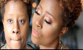 Sunset Eyeshadow Look using Jtorrybeauty.com Makeup|Darbiedaymua