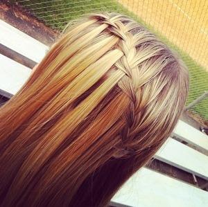 My friend did my hair :)