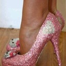 Bling it on!!!! Hello Kitty Heels