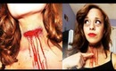1950's Dead Pin-Up/ Slit Throat Halloween 2012