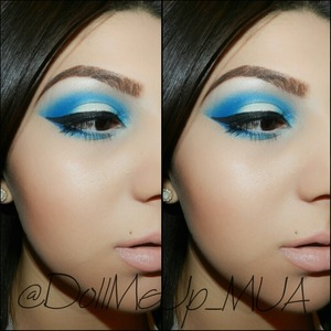 Look created w the BHCosmetics Take Me To Brazil palette . . Follow me on IG ;)