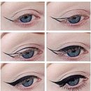 Insta: makeup_vix how to do winged liner