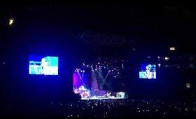 Show Iron Maiden - Eddie no palco