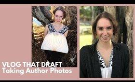 Taking my Author Photos! (Vlog That Draft Episode 5)
