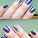 Cling wrap nails