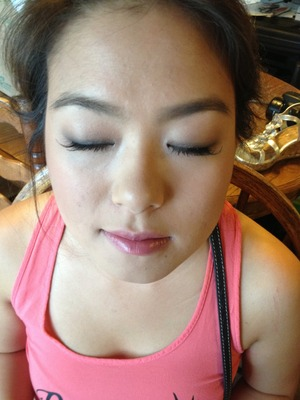 Bffs makeup for our friends wedding