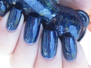 Fing'rs Blue Glitter (shade)
