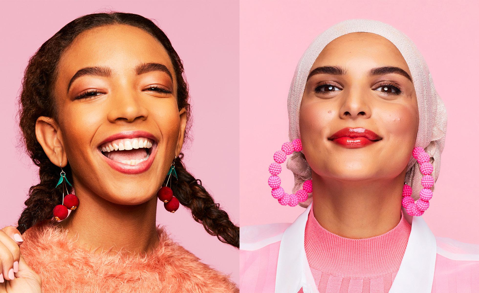 Models wear Benefit Benetint Lip  & Cheek Stain
