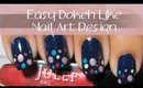 Easy Back To School Nail Art Design