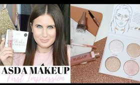 TESTING ASDA MAKEUP FOR THE FIRST TIME! | FIRST IMPRESSION