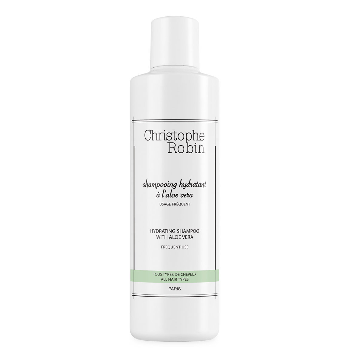 Christophe Robin Hydrating Shampoo with Aloe Vera alternative view 1 - product swatch.