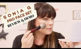 SONIA G PRO FACE SET REVIEW  and DEMO
