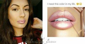Glowy lips: 1. SNyx lip pencil 855 sand pink?  2. SChanel lipstick 420,  3. @Mac lose pigment vanilla.?  4. @Max factor lip gloss 20 Glowing Peach