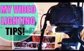 EASY Video Lighting Setup Tips & Ideas (Home Studio) | How I Light MY Videos