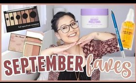 September Favorites - CoverGirl, Urban Decay, I Dew Care, Madison Braids & Daily Grace Co.