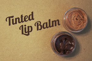 Here is a little DIY from our blog! Please go take a look! http://lbdgirls.blogspot.ca/2012/07/diy-tinted-lip-balm.html