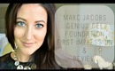 Marc Jacobs Genius Gel Foundation | First Impression & Review | Megan McTaggart