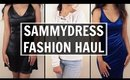 HUGE WINTER FASHION TRY ON HAUL | Sammydress | Stacey Castanha