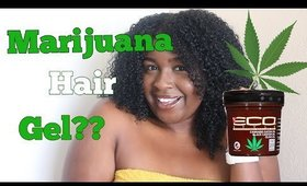 NEW Eco Style Cannabis Sativa Gel REVIEW | Let's get LIT...jk
