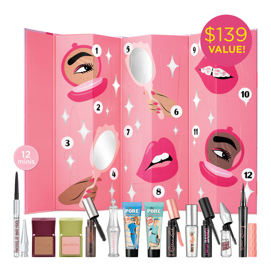 Benefit Cosmetics Shake Your Beauty Advent Calendar alternative view 1 - product swatch.