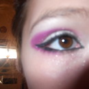 Pink Cut Crease/ Cat eye