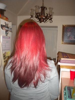 just my hair :)