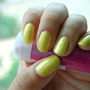 Yellow with Flakies