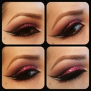 Pink Arabic eyes