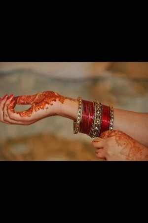 My engagement henna